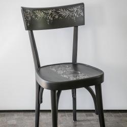 Sedia con dipinto