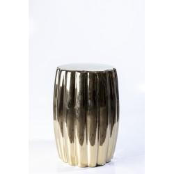 Stool curvy ceramic