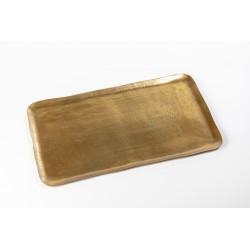 Platter brass rectangle