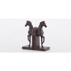 Book-end Hevonen Horse Flamant